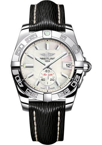 Breitling Watches - Galactic 36 Automatic Stainless Steel - Polished Bezel - Sahara Strap - Style No: A3733012/A716/213X/A16BA.1