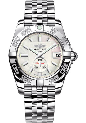 Breitling Watches - Galactic 36 Automatic Stainless Steel - Polished Bezel - Pilot Bracelet - Style No: A3733012/A716/376A