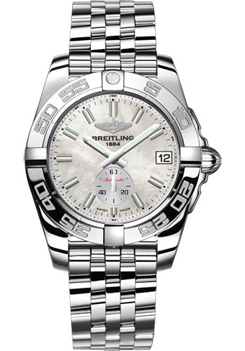 Breitling Watches - Galactic 36 Automatic Stainless Steel - Polished Bezel - Pilot Bracelet - Style No: A3733012/A788/376A