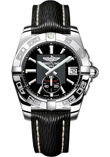 Breitling Watches - Galactic 36 Automatic Stainless Steel - Polished Bezel - Sahara Strap - Style No: A3733012/BA33/213X/A16BA.1