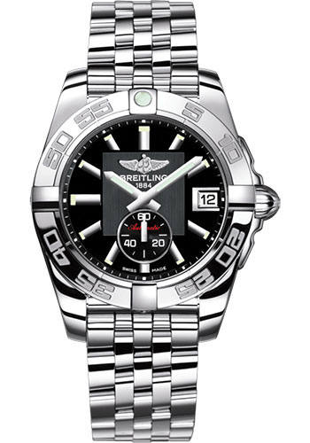 Breitling Watches - Galactic 36 Automatic Stainless Steel - Polished Bezel - Pilot Bracelet - Style No: A3733012/BA33/376A