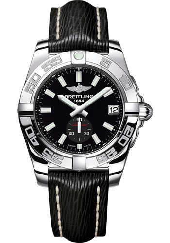 Breitling Watches - Galactic 36 Automatic Stainless Steel - Polished Bezel - Sahara Strap - Style No: A3733012/BE77/213X/A16BA.1