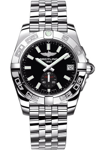 Breitling Watches - Galactic 36 Automatic Stainless Steel - Polished Bezel - Pilot Bracelet - Style No: A37330121B1A1