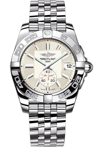 Breitling Watches - Galactic 36 Automatic Stainless Steel - Polished Bezel - Pilot Bracelet - Style No: A37330121G1A1