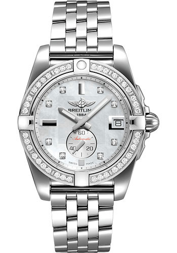 Breitling Watches - Galactic 36 Automatic Stainless Steel - Diamond Bezel - Bracelet - Style No: A37330531A1A1