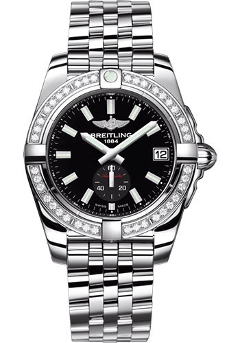 Breitling Watches - Galactic 36 Automatic Stainless Steel - Diamond Bezel - Bracelet - Style No: A37330531B1A1