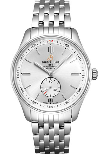 Breitling Watches - Premier Automatic 40 Stainless Steel - Navitimer Bracelet - Style No: A37340351G1A1