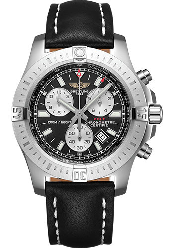 Breitling Watches - Colt Chronograph Leather Strap - Tang - Style No: A73388111B1X1
