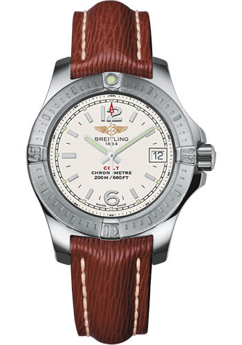 Breitling Watches - Colt Lady Leather Strap - Tang - Style No: A77388111G1X1