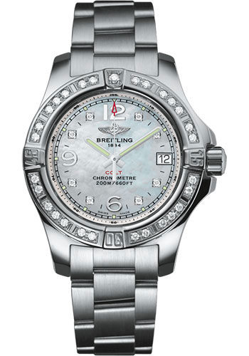 Breitling Watches - Colt Lady Professional III Bracelet - Style No: A77388531A1A1