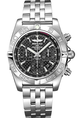 Breitling Watches - Chronomat 44 Steel Polished Bezel - Pilot Bracelet - Style No: AB0110121B2A1