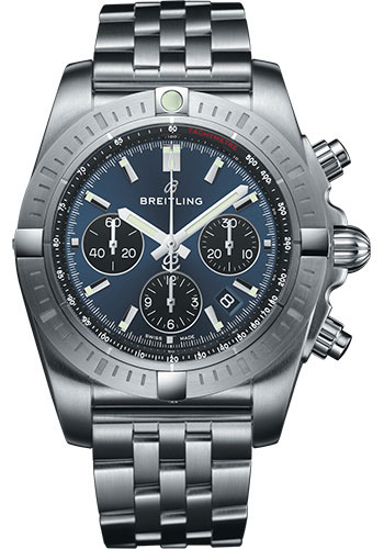 Breitling Watches - Chronomat B01 Chronograph 44mm - Stainless Steel - Pilot Bracelet - Style No: AB0115101C1A1
