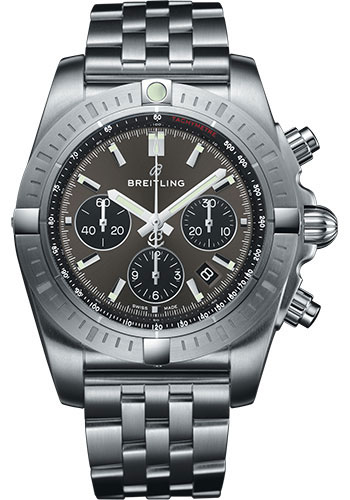 Breitling Watches - Chronomat B01 Chronograph 44mm - Stainless Steel - Pilot Bracelet - Style No: AB0115101F1A1
