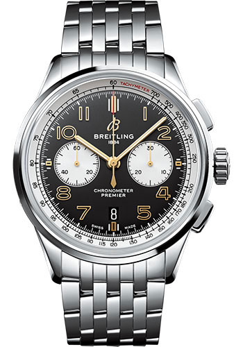 Breitling Watches - Premier B01 Chronograph 42 Norton - Style No: AB0118A21B1A1