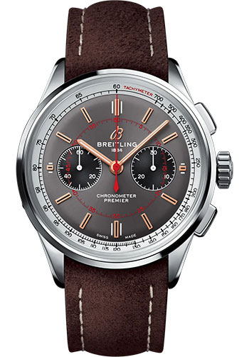 Breitling Watches - Premier B01 Chronograph 42 Wheels and Waves Limited Edition - Style No: AB0118A31B1X1