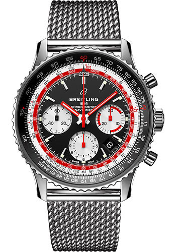 Breitling Watches - Navitimer B01 Chronograph Swissair - Style No: AB01211B1B1A1