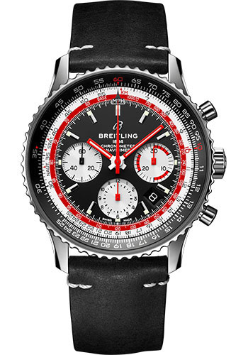 Breitling Watches - Navitimer B01 Chronograph Swissair - Style No: AB01211B1B1X1