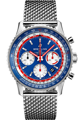 Breitling Watches - Navitimer B01 Chronograph Pan Am - Style No: AB01212B1C1A1