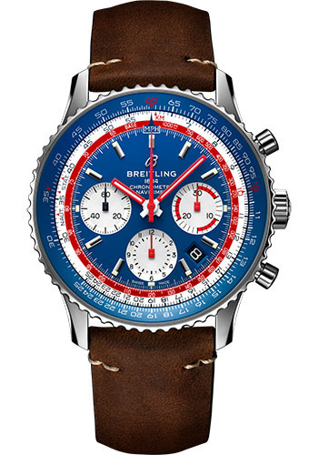 Breitling Watches - Navitimer B01 Chronograph Pan Am - Style No: AB01212B1C1X1