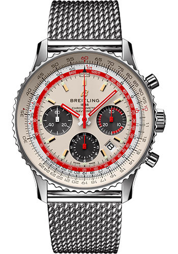 Breitling Watches - Navitimer B01 Chronograph TWA - Style No: AB01219A1G1A1