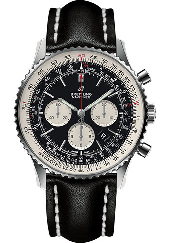 Breitling Watches - Navitimer B01 Chronograph 46mm - Stainless Steel - Leather Strap - Style No: AB0127211B1X1