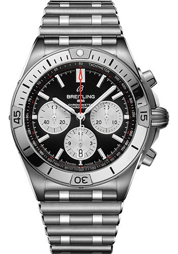 Breitling Watches - Chronomat B01 42 Stainless Steel - Metal Bracelet - Style No: AB0134101B1A1