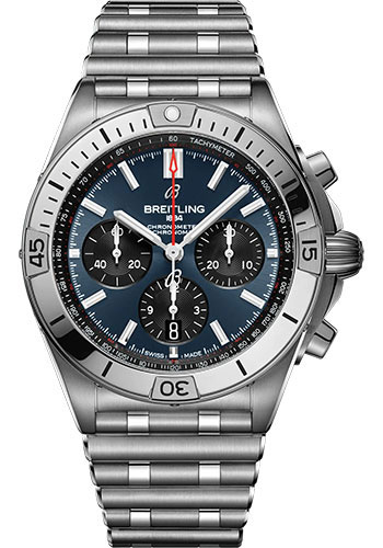 Breitling Watches - Chronomat B01 42 Stainless Steel - Metal Bracelet - Style No: AB0134101C1A1