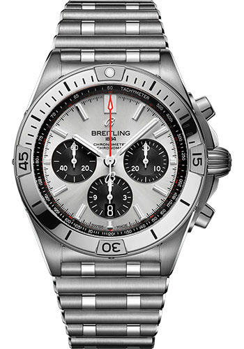 Breitling Watches - Chronomat B01 42 Stainless Steel - Metal Bracelet - Style No: AB0134101G1A1