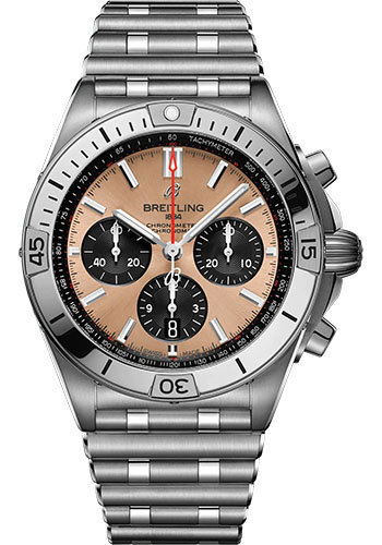 Breitling Watches - Chronomat B01 42 Stainless Steel - Metal Bracelet - Style No: AB0134101K1A1