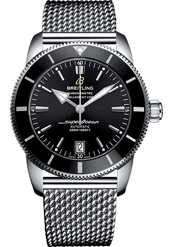 Breitling Watches - Superocean Heritage II B20 42mm - Stainless Steel - Aero Classic Bracelet - Style No: AB2010121B1A1