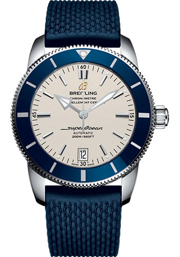 Breitling Watches - Superocean Heritage II 42mm - Stainless Steel - Rubber Aero Classic Strap - Style No: AB201016/G827/280S/A20S.1