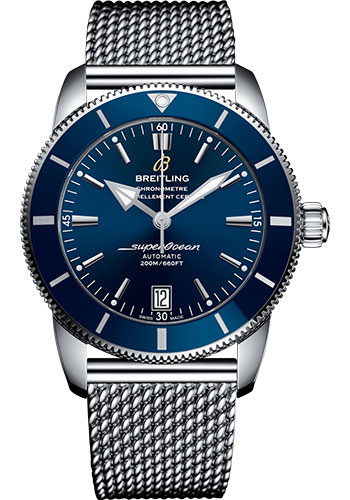 Breitling Watches - Superocean Heritage II B20 42mm - Stainless Steel - Aero Classic Bracelet - Style No: AB2010161C1A1
