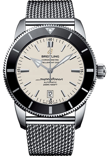 Breitling Watches - Superocean Heritage II 46mm - Stainless Steel - Ocean Classic Bracelet - Style No: AB202012/G828/152A