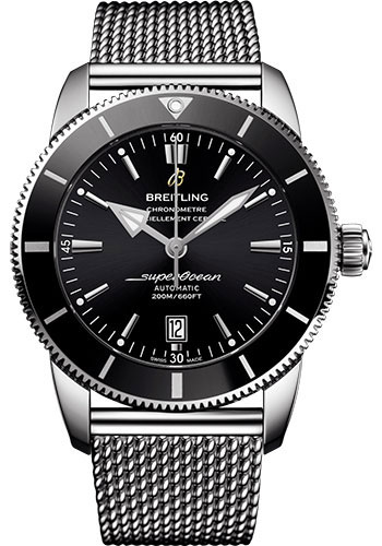 Breitling Watches - Superocean Heritage II B20 46mm - Stainless Steel - Aero Classic Bracelet - Style No: AB2020121B1A1