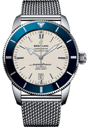Breitling Watches - Superocean Heritage II 46mm - Stainless Steel - Ocean Classic Bracelet - Style No: AB202016/G828/152A