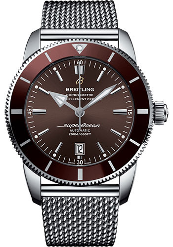 Breitling Watches - Superocean Heritage II 46mm - Stainless Steel - Ocean Classic Bracelet - Style No: AB202033/Q618/152A