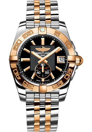 Breitling Watches - Galactic 36 Automatic Steel-Rose Gold - Pilot Bracelet - Style No: C3733012/BA54/376C