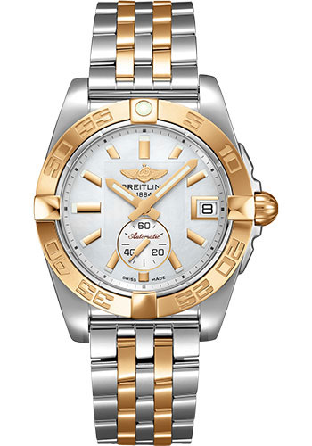 Breitling Watches - Galactic 36 Automatic Steel-Rose Gold - Pilot Bracelet - Style No: C37330121A1C1