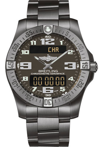 Breitling Watches - Aerospace Evo Titanium Bracelet - Style No: E79363101F1E1