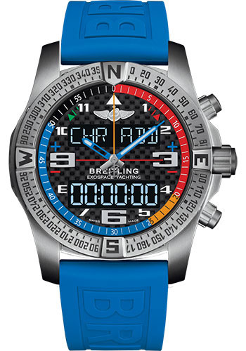 Breitling Watches - Exospace B55 Yachting - Titanium - Twinpro Strap - Style No: EB5512221B1S1