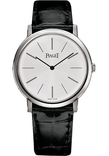 Piaget Watches - Altiplano Ultra-Thin - Mechanical - 38 mm - White Gold - Style No: G0A29112