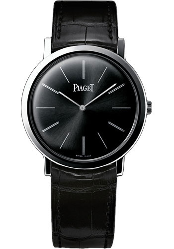 Piaget g0a29113 altiplano ultra thin mechanical 38mm wg watch for Altiplano watches