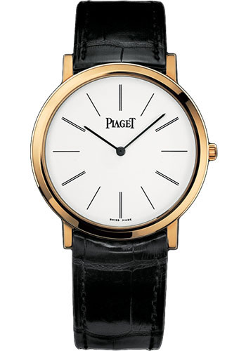 Piaget Watches - Altiplano Ultra-Thin - Mechanical - 38 mm - Yellow Gold - Style No: G0A29120