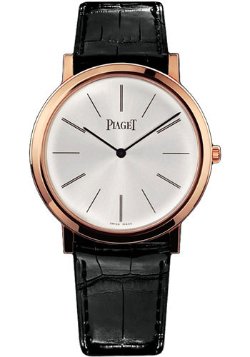 Piaget Watches - Altiplano Ultra-Thin - Mechanical - 38 mm - Rose Gold - Style No: G0A31114