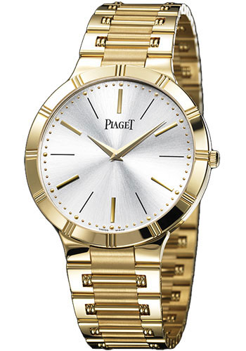 Piaget Watches - Dancer Ultra-Thin - 38 mm - Yellow Gold - Style No: G0A31158