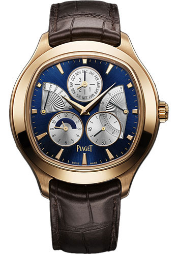 Piaget Watches - Black Tie Emperador Cushion-Shaped - Perpetual Calendar - Style No: G0A33019