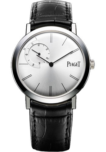 Piaget Watches - Altiplano Ultra-Thin - Mechanical - 40 mm - White Gold - Style No: G0A33112