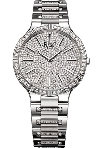 Piaget Watches - Dancer Ultra-Thin - 38 mm - White Gold - Style No: G0A34054