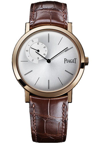 Piaget Watches - Altiplano Ultra-Thin - Mechanical - 40 mm - Rose Gold - Style No: G0A34113