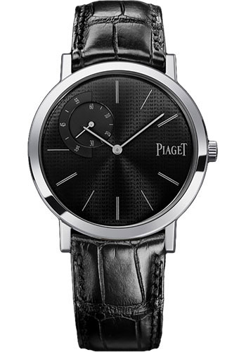 Piaget Watches - Altiplano Ultra-Thin - Mechanical - 40 mm - Platinum - Style No: G0A34120